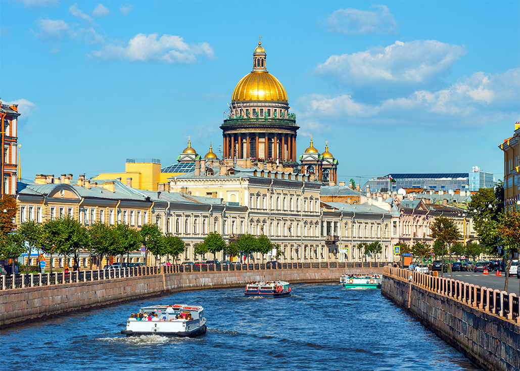 Лето в Петербурге