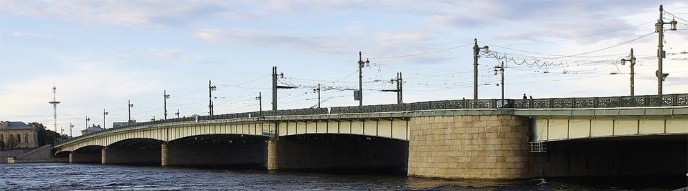 Литейный мост в Санкт-Петербурге (Excursspb)